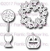 Autumn Door Accents - Frantic Stamper Halloween Craft Dies