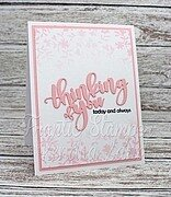 Giant Layered Thinking of You - Frantic Stamper Craft Die