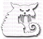 Creepy Cat - Halloween Frantic Stamper Craft Die
