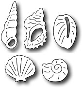 Beach Comber Icons - Frantic Stamper Craft Dies
