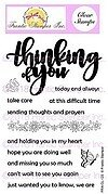 Giant Thinking of You - Frantic Stamper Clear Stamp Set