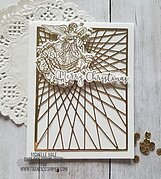 Christmas Angel - Clear Stamp