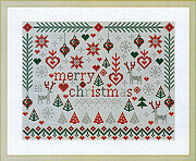 Little Merry Christmas - Cross Stitch Pattern