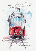 City Tram - Cross Stitch Kit