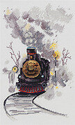 The Misty Express - Cross Stitch Kit