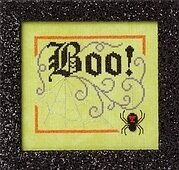 Boo Elegance - Cross Stitch Pattern