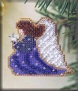 Starlight Angel - Beaded Cross Stitch Kit