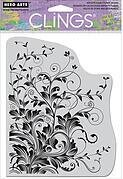 Leafy Vines - Cling Rubber Stamp