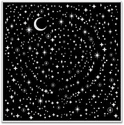 Star Light Star Bright Bold Prints - Background Cling Stamp