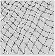 Fishing Net Bold Prints - Background Cling Stamp