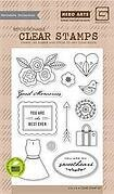 J'Adore Good Memories - Clear Stamps