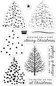 Color Layering Christmas Tree - Clear Stamp