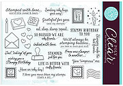 Stamped Just For You - Clear Stamp