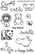Cute Animals - From The Vault Clear Stamp