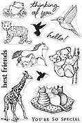 Realistic Animals - From The Vault Clear Stamp