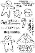 Christmas Gingerbread Cookies - Clear Stamp