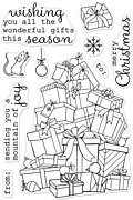 Mountain of Joy - Christmas Clear Stamp