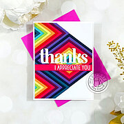 Happy Thanks Stamp and Cut XL - Stamp and Die Set