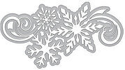 Snowflake Cluster Fancy Die - Craft Die