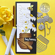 Honey Pot Fancy Dies - Craft Die