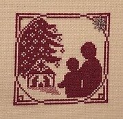 Sharing the Christmas Story - Cross Stitch Pattern