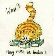 What? - Cross Stitch Pattern