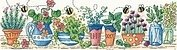Herb Garden - Cross Stitch Pattern