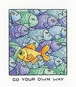 Your Own Way - Peter Underhill - Cross Stitch Pattern