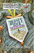 Broom Stick Fuel - Scary Apothecary Series - Cross Stitch