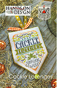 Cackle Lozenges - Scary Apothecary - Cross Stitch Pattern