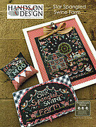 Star Spangled Swine Farm - Cross Stitch Pattern