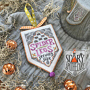 Spider Legs - Scary Apothecary - Cross Stitch Pattern