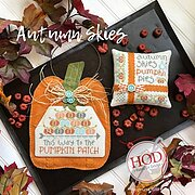 Autumn Skies - Cross Stitch Pattern