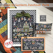 Jack-O-Lantern Junction Farm - Cross Stitch Pattern