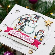 Wanna Build A Snowman - Christmas Clear Stamp