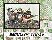 Band of Mice - Cling Rubber Stamp