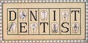 Dentist - Cross Stitch Pattern