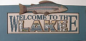 Welcome To The Lake - Cross Stitch Pattern