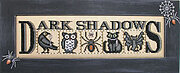 Dark Shadows - Cross Stitch Pattern