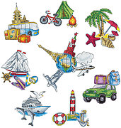 Round the World - Cross Stitch Kit
