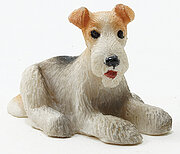 Airedale Terrier - Dollhouse Miniature