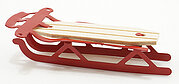 Red Flyer Sled - Dollhouse Miniature