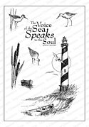Lighthouse - Cling Rubber Stamp