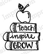 Teach Inspire - Cling Stamp