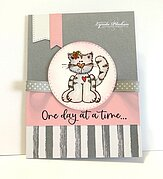 One Day at Time - Cling Stamp