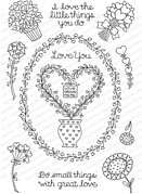 Love Grows Here - Clear Stamp