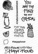 Happy Hour Set - Clear Stamp