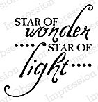 Star of Wonder - Cling Rubber Stamp