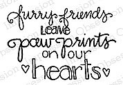 Furry Friends - Cling Rubber Stamp