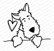 Darby Love - Cling Rubber Stamp